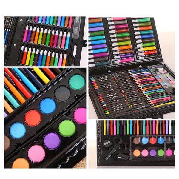 Hộp bút màu 150 món cho bé cao cấp